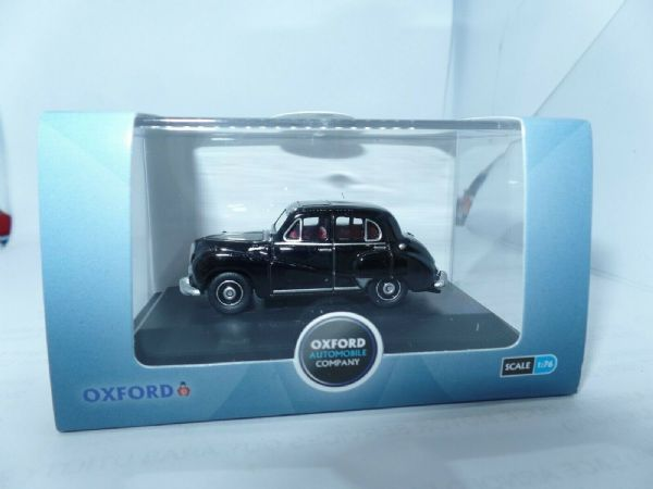 Oxford 76SOM001 SOM001 1/76 OO Scale Austin Somerset Black